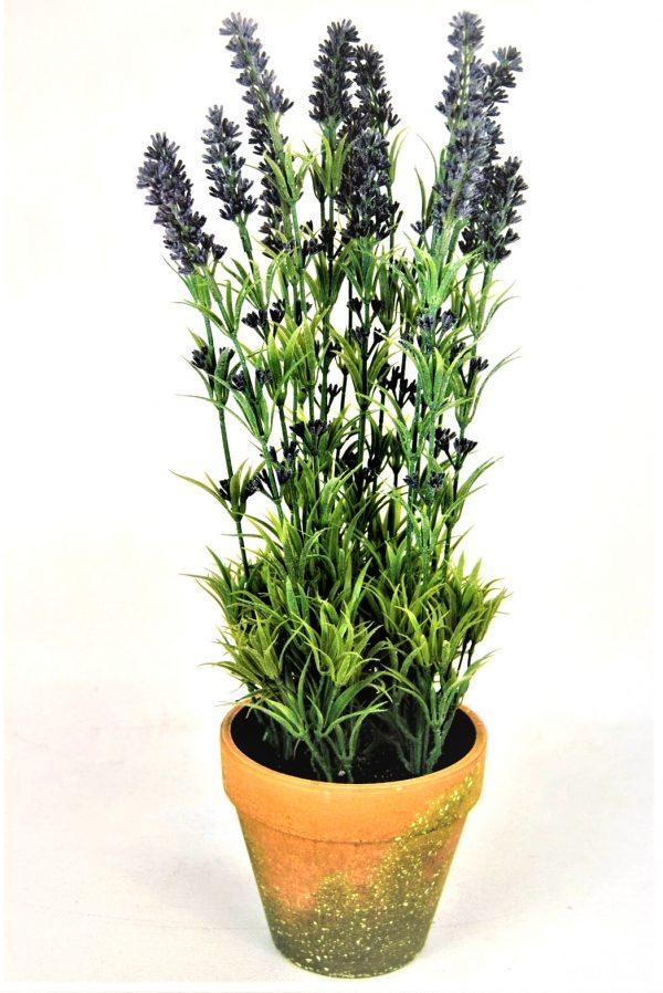 Artificial Lavender Herb Plant