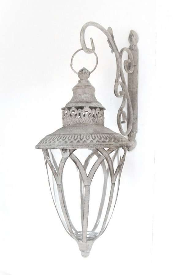Metal Ornate Wall Lantern