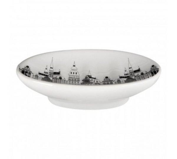 Soap Dish White Black