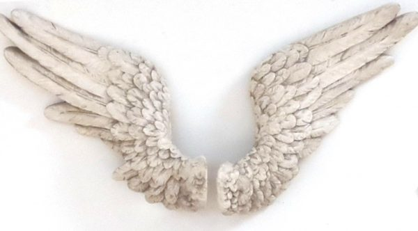 Angel Wings Antique White