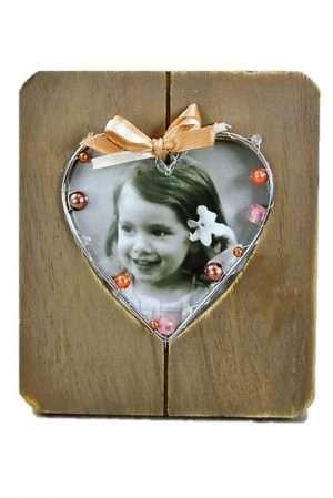 Photo Frame Rustic Wooden