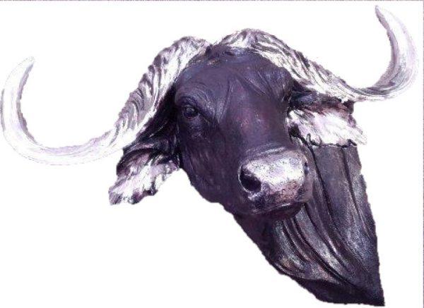 Bison Extra Large Sculpture